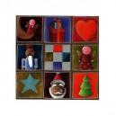 Anges de Noël - 15 x 15 cm