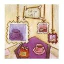 Thé ou café - 15x15cm