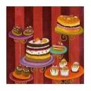 Gâteaux d'anniversaire - 15x15 cm