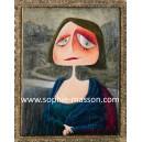 Mona Lisa (ou La Joconde)- 60 x 80 cm - Acrylique