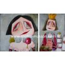 Blanche-Neige & La Reine des Pommes - Diptyque 100 x 60 cm