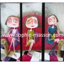 Léonie, Eugénie & Valentine - Triptyque