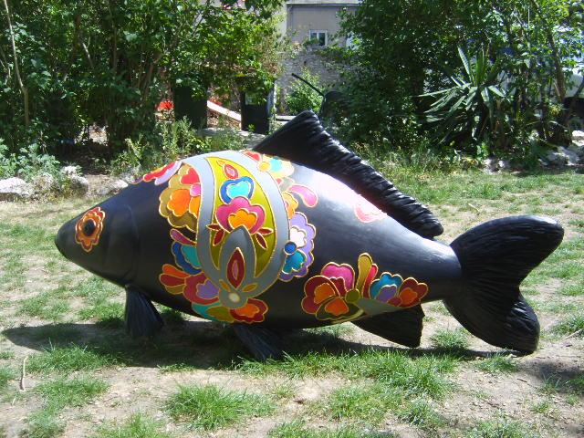"""""""Fishion victim"""" , l'oeuvre de Sophie Masson"""