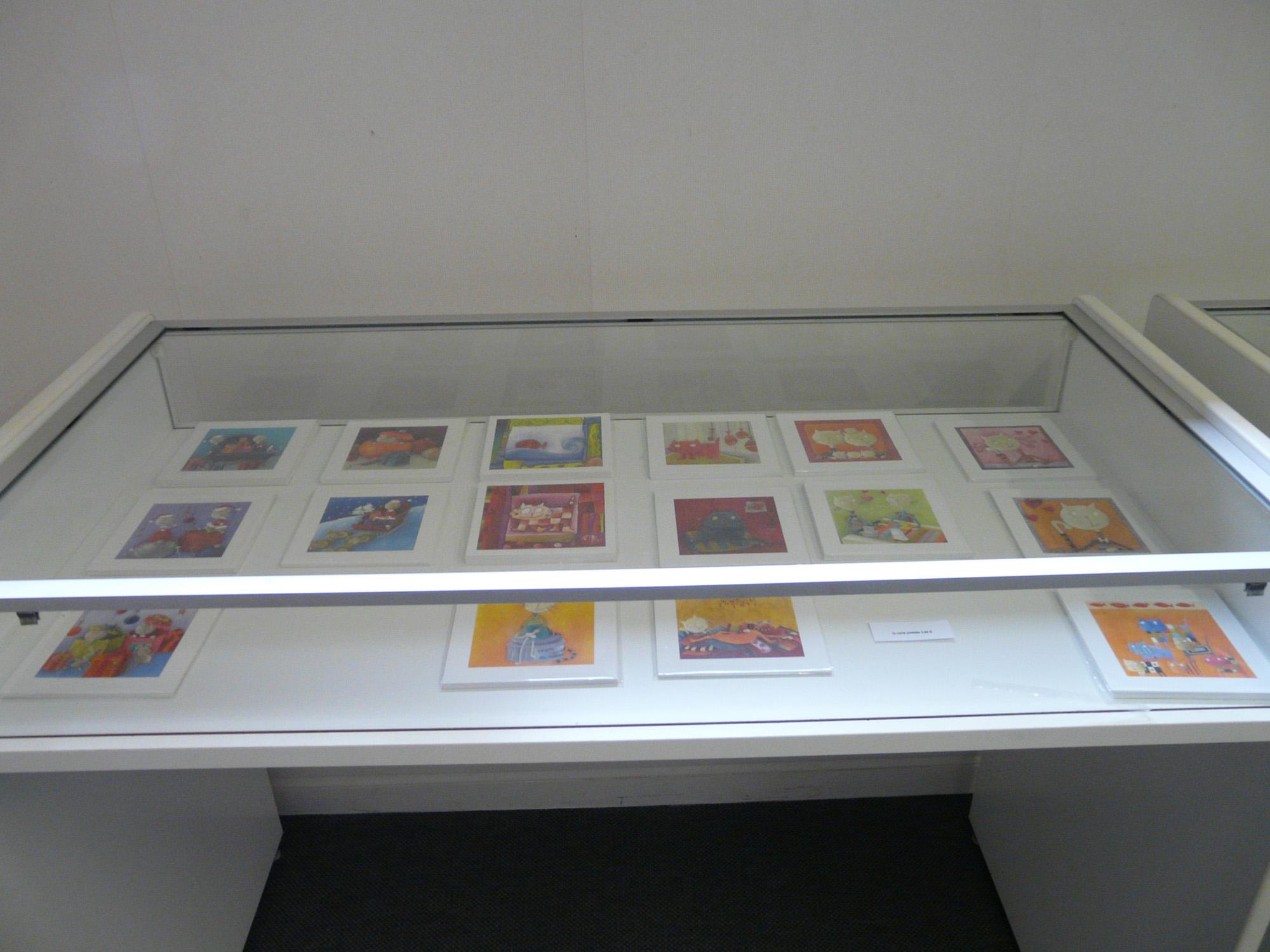 La vitrine des cartes postales