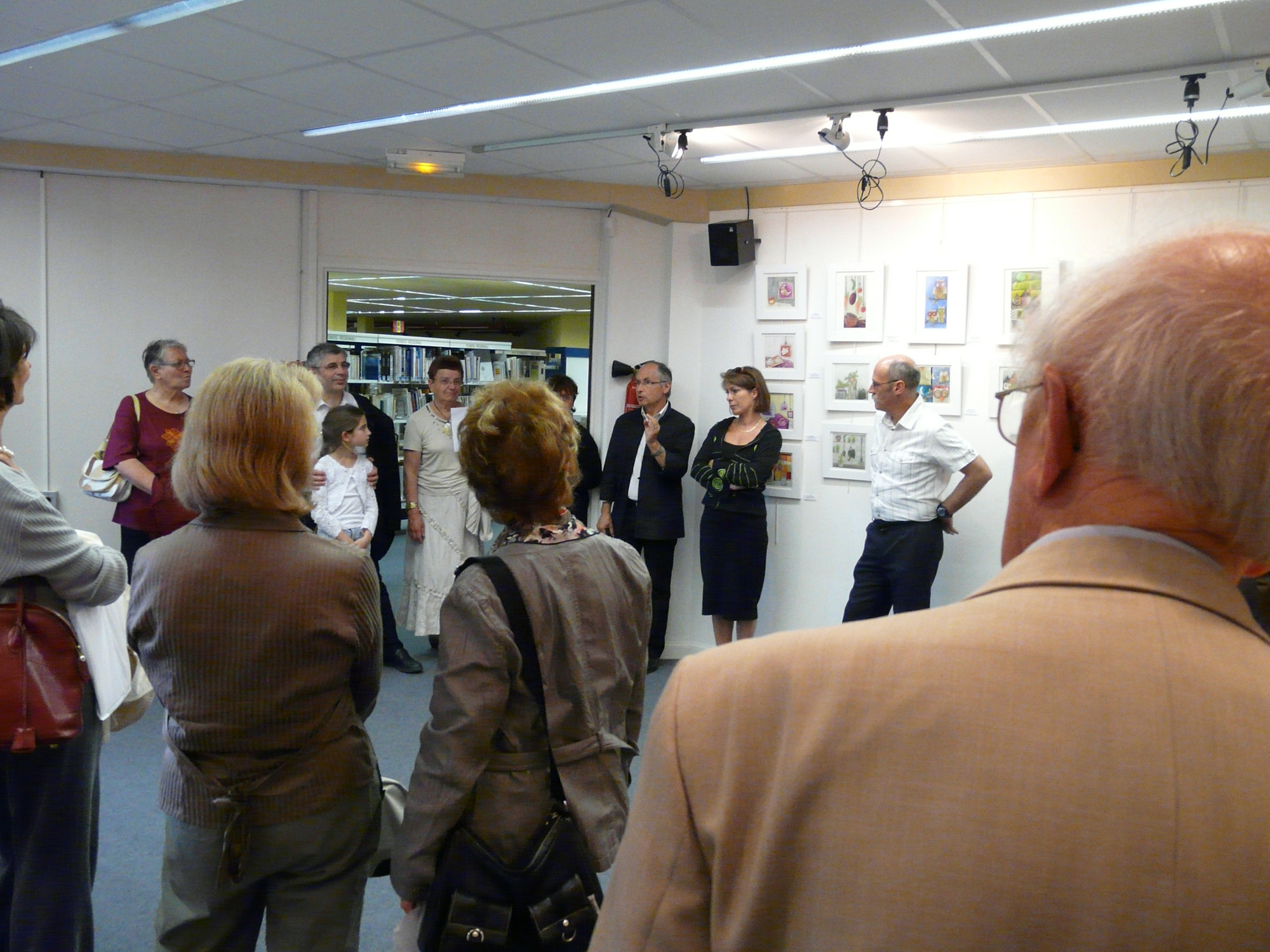 Vernissage Expo Juin 2008